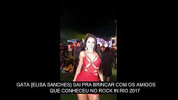 Eliza Sanches Putinha Safada Transando Com Dois Depois de Rock In Rio
