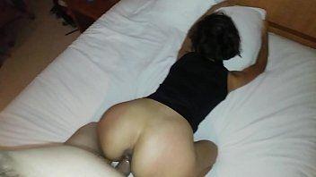 Daiane Ninfeta Safada Empinou a Bunda de Quatro no Motel Pro Cara Enterrar