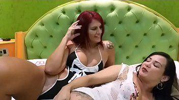 Bianca Naldy e Melissa Devassa Fizeram Uma Putaria Lésbica e se Foderam Gostoso